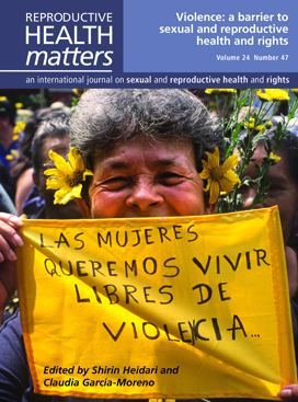 Violence: a barrier to sexual and reproductive health and rights