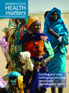 Conflict and crisis settings: promoting sexual and reproductive rights