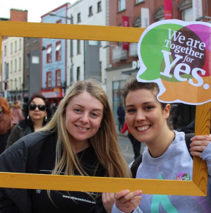 MY experience of the Together For Yes (TFY) campaign