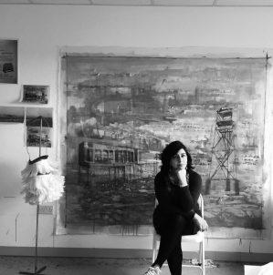Naiza Khan: the artist behind the cover