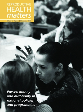 Power, money and autonomy in national policies and programmes