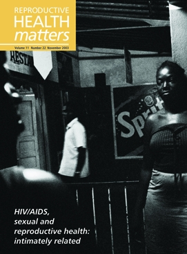 HIV/AIDS, sexual and reproductive health: intimately related
