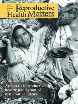 Access to reproductive health: a question of distributive justice