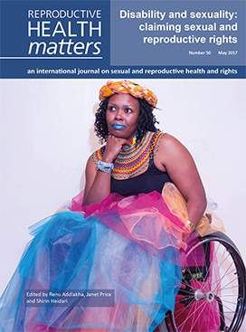 Disability and sexuality: claiming sexual and reproductive rights