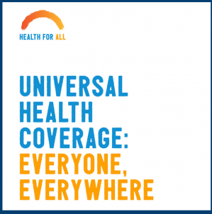 Sexual and reproductive health and rights (SRHR) and universal health coverage (UHC)