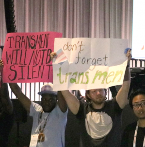 Framing reproductive justice in the context of institutionalized transphobia globally